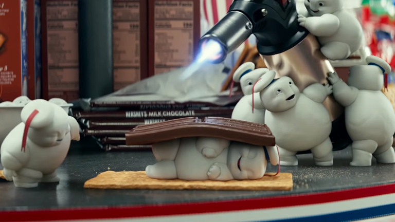 ghostbusters afterlife stay puft marshmallow man sony