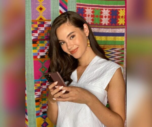 Catriona Gray happy to reunite with parents