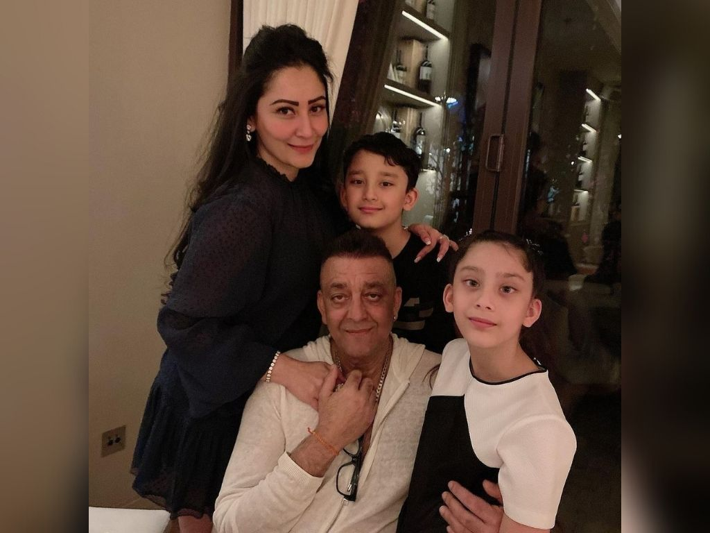 Sanjay Dutt finally gets to celebrate Eid with family
