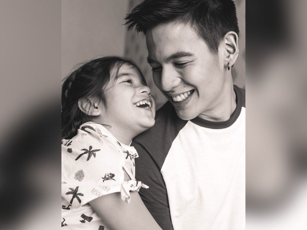Jake Ejercito enjoys being a father to Ellie