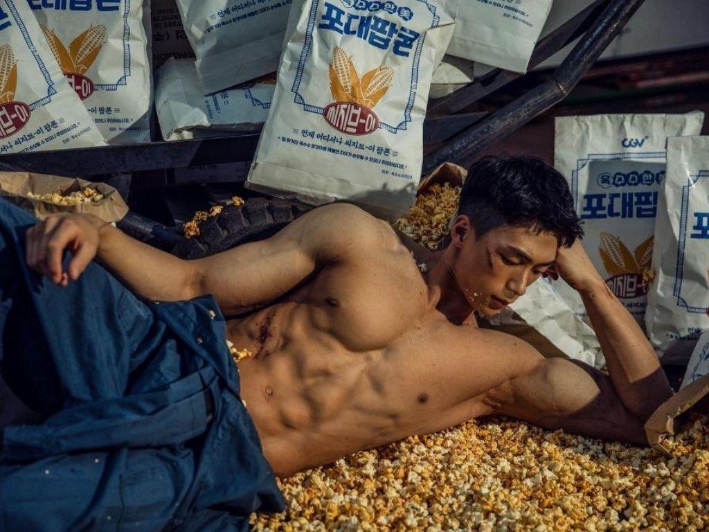 South Korean cinema chain CGV introduces cement-bag sized popcorn