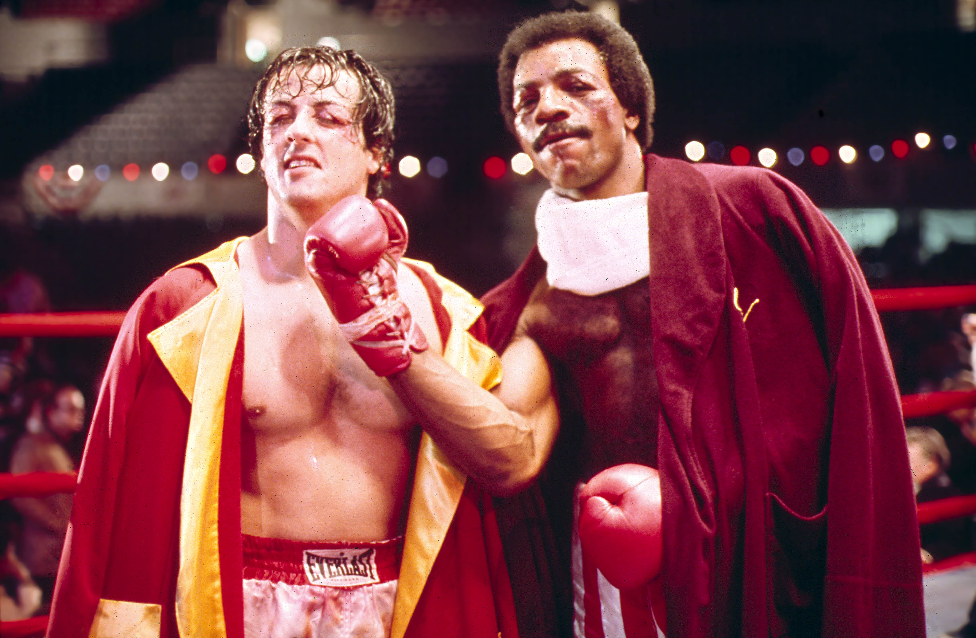 rocky sylvester stallone carl weathers