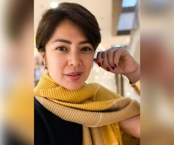 Alice Dixson is back in the Philippines