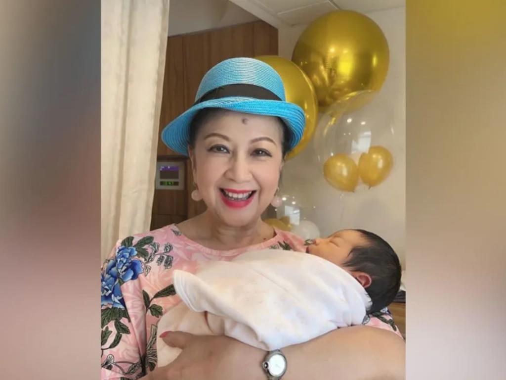 Nancy Sit is finally a grandmother