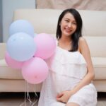 Kathy Yuen gives birth to first child