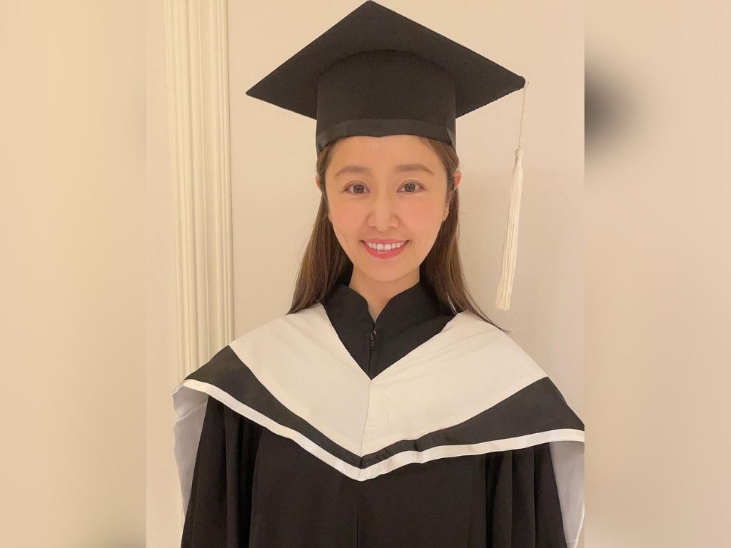 Ruby Lin finally gets her MBA