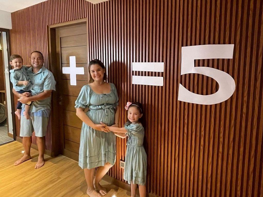 Nadine Samonte pregnant with third child