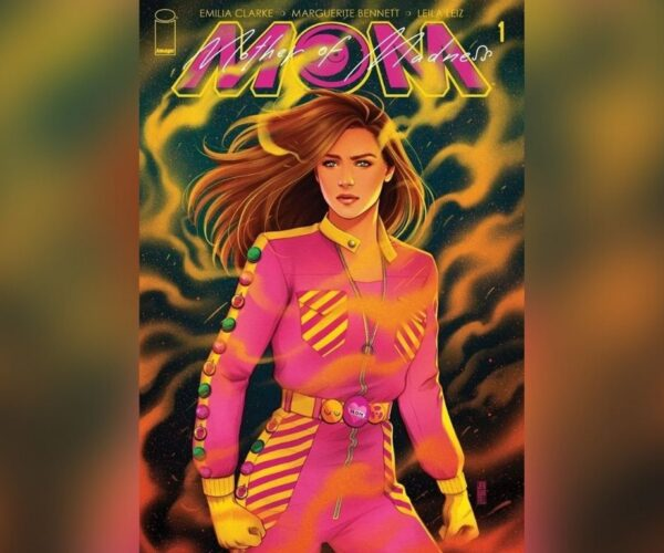 """Emilia Clarke excited for first comic book, """"M.O.M: Mother of Madness"""""""