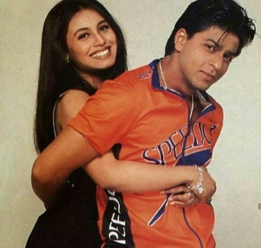 Shah Rukh and Rani KKHH