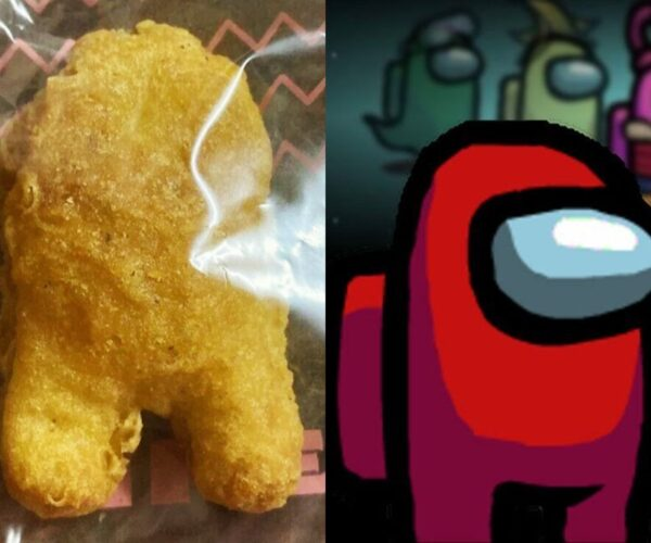 """BTS Meal chicken nugget sold over USD$99k for its """"Among US"""" shape"""