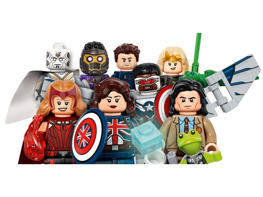 LEGO comes out with Disney+ Marvel Minifigures