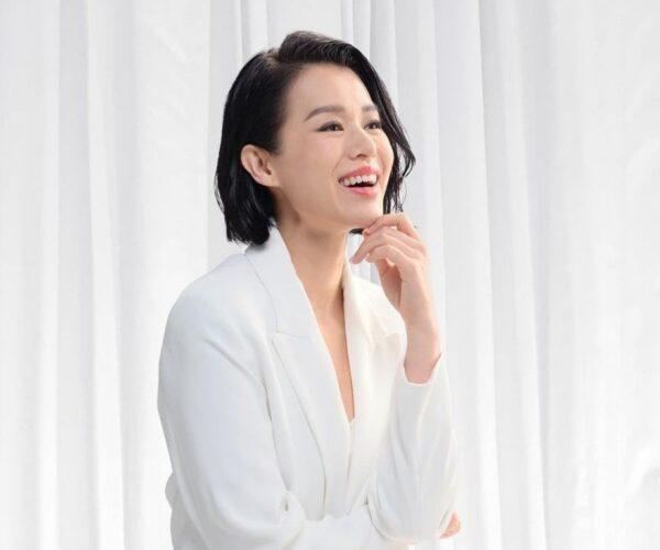 Myolie Wu denies report about being depressed