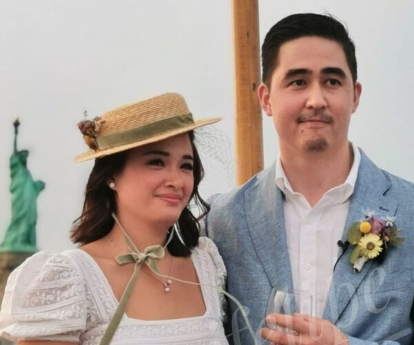 Yam Concepcion got married in New York