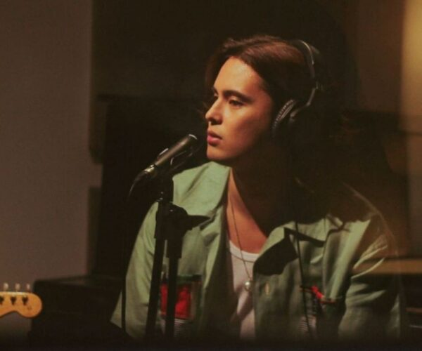 James Reid makes his own music as artistic expression