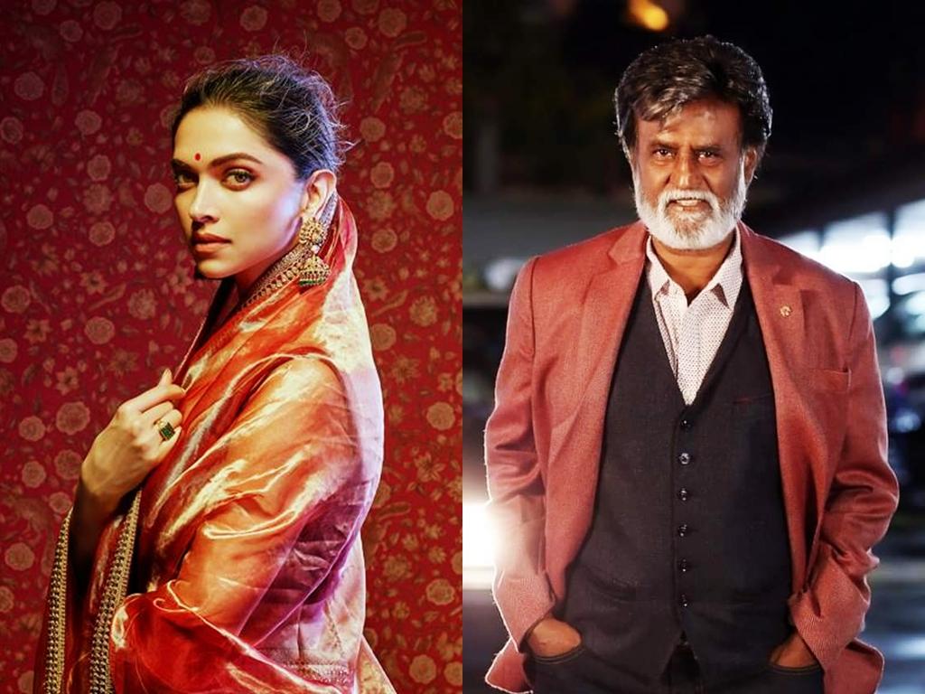 Deepika Padukone, Rajinikanth to collaborate in new movie?