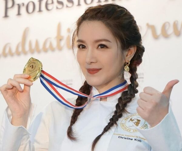 Christine Kuo graduates from culinary programme