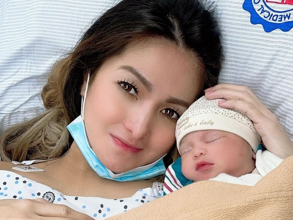Ynez Veneracion welcomes her second child at 40