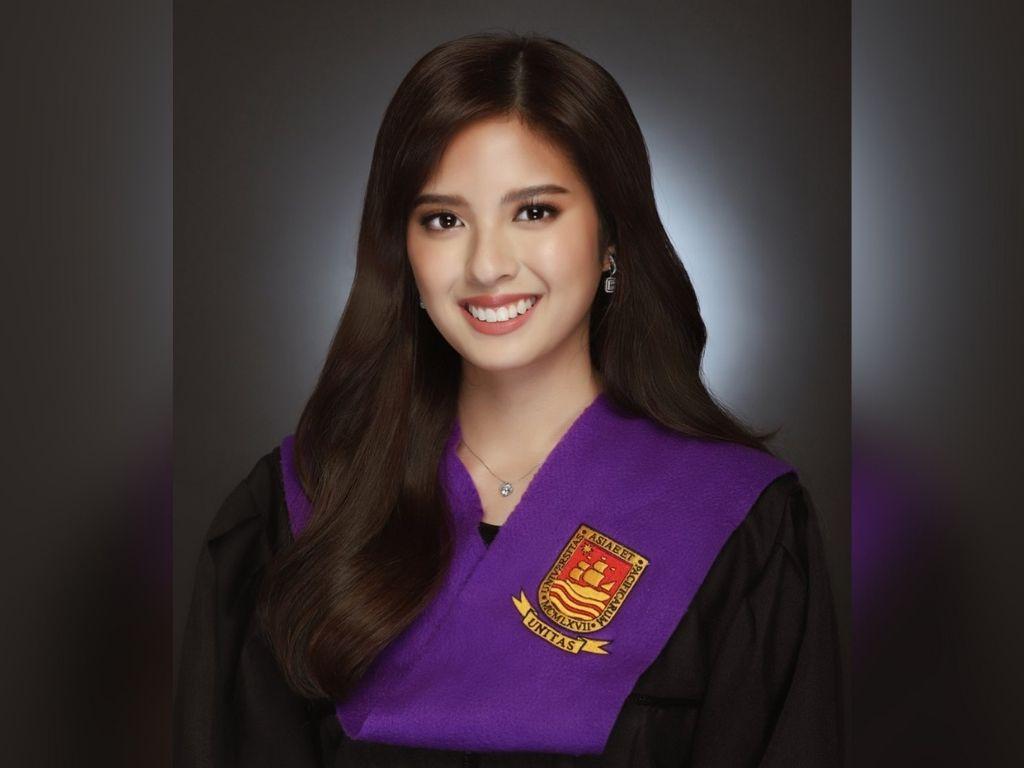 Ysabel Ortega now has a bachelor's degree