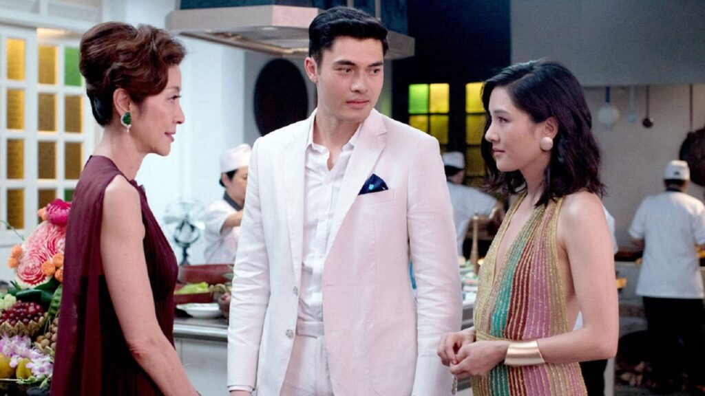 crazy rich asians michelle yeoh henry golding constance wu