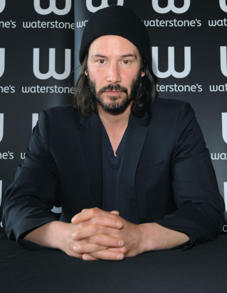 keanu reeves attends a book signing at waterstones news photo 526335160 1560274337