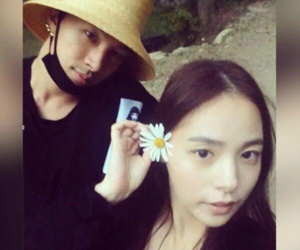 Taeyang and Min Hyo Rin are having a baby