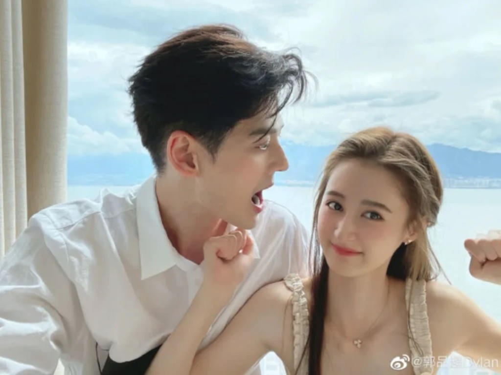 Dylan Kuo confirms romance with Ma Zehan