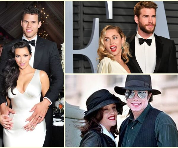 Famous celeb couples whose marriages were famously short