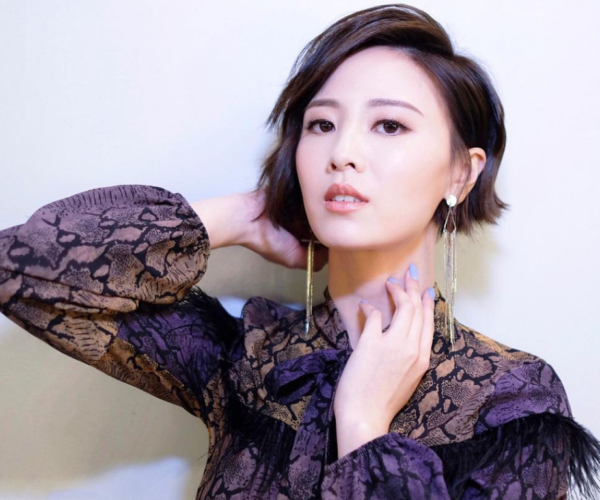 "Rebecca Zhu denies being ""shelved"" by TVB"