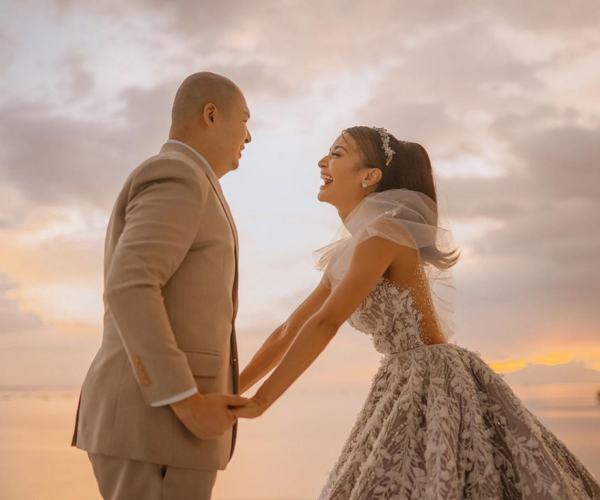 Kris Bernal finally ties the knot with Perry Choi