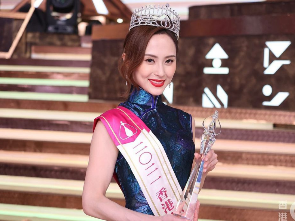 Kristy Shaw denies using connection to win at Miss HK 2021