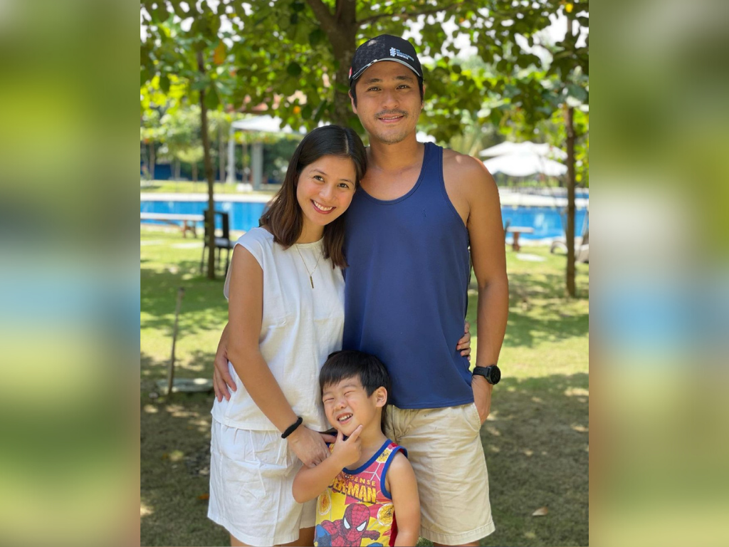 Kaye Abad gives birth to second child