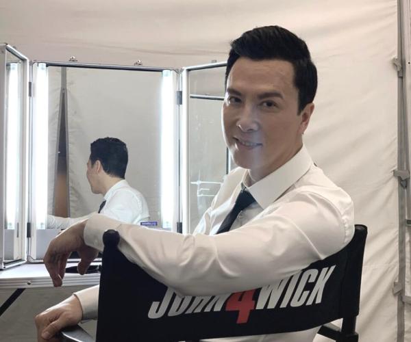 "Donnie Yen enjoys working on ""John Wick 4"""