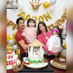 Aaron Kwok finally gets to celebrate birthday with family