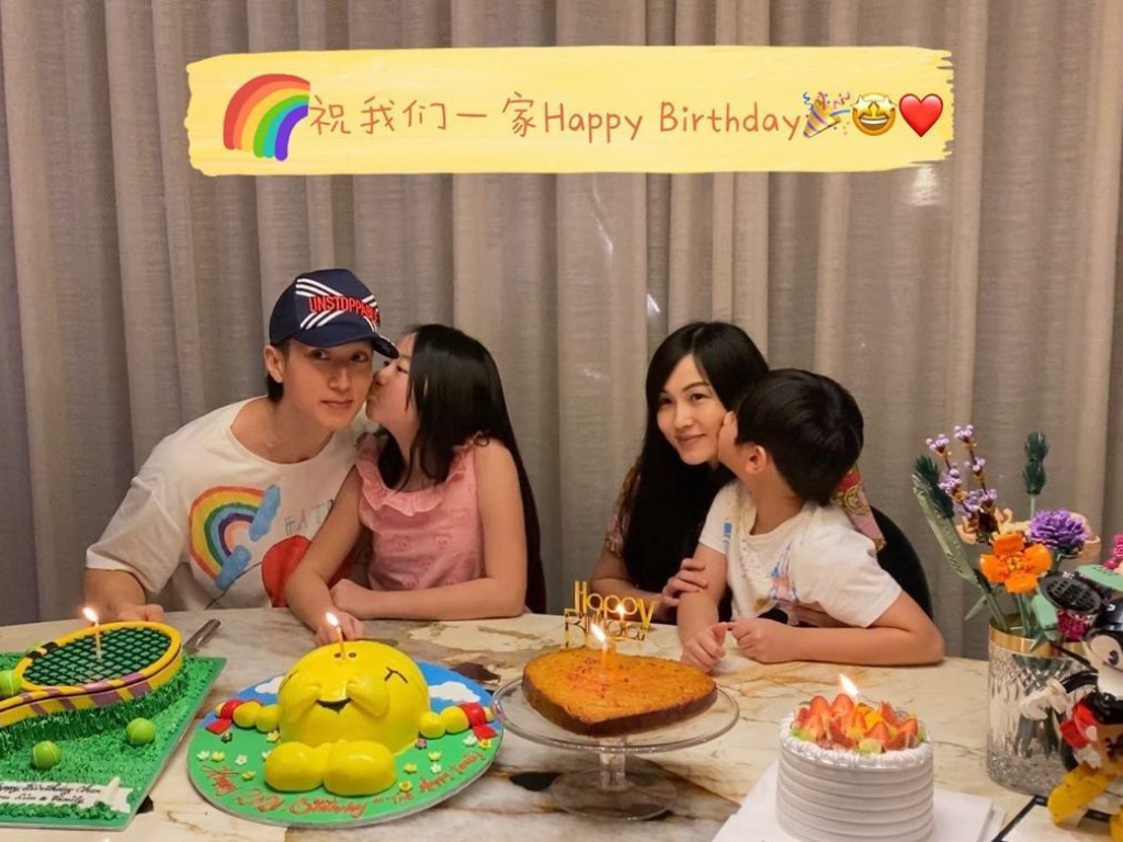 Wu Chun and family donate PPEs to Brunei frontliners