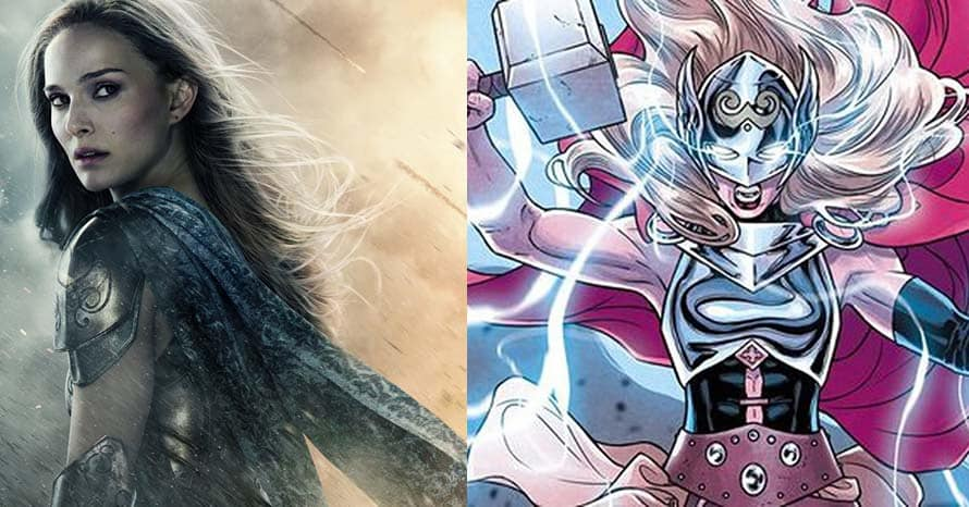 Natalie Portman Mighty Thor Love and Thunder